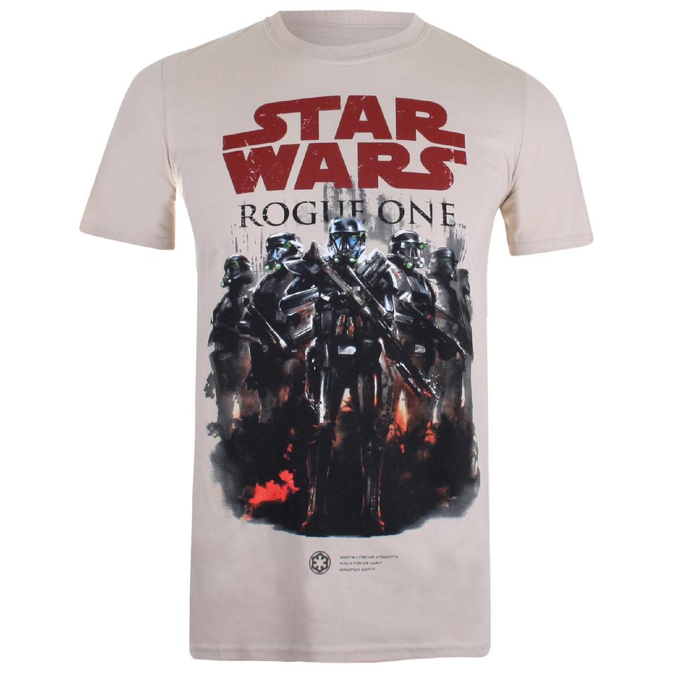 Star Wars Herren Squad T Shirt Sand XXL Brown
