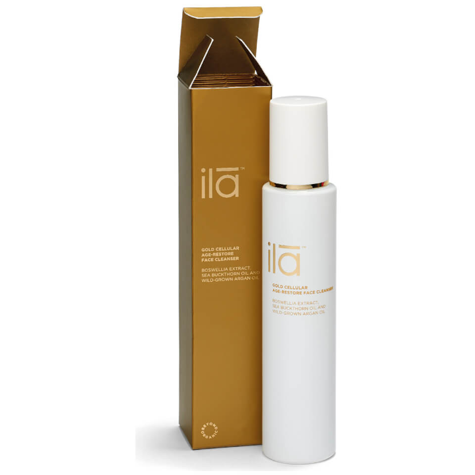 ila-spa-gold-cellular-age-restore-face-cleanser-100ml