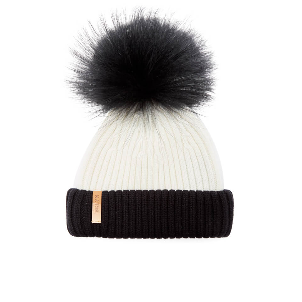bklyn-women-merino-wool-hat-with-black-pom-pom-white-black