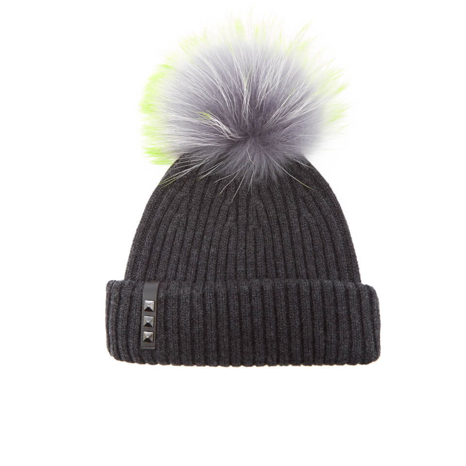 bklyn-women-merino-wool-hat-with-grey-lime-pom-pom-charcoal