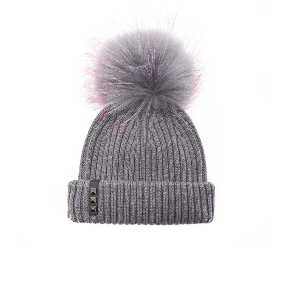 bklyn-women-merino-wool-hat-with-grey-pink-pom-pom-mid-grey