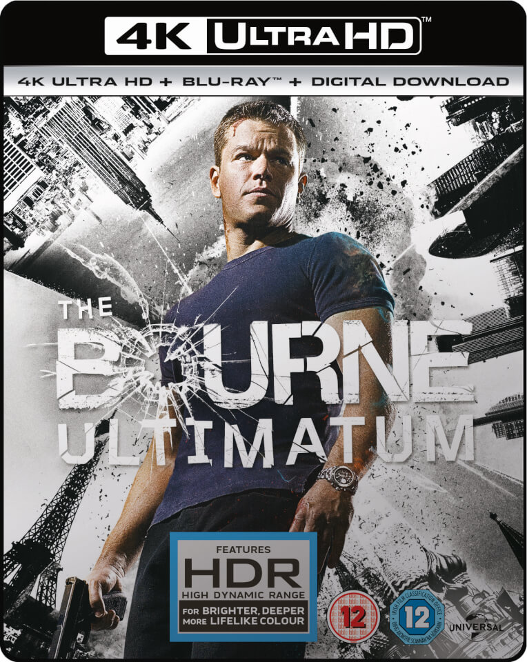 the bourne ultimatum 4k ultra hd blu ray. Black Bedroom Furniture Sets. Home Design Ideas