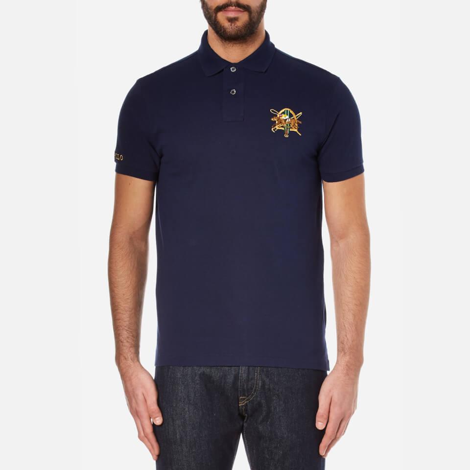 Polo Ralph Lauren Mens Short Sleeve Polo Shirt French Navy Xl