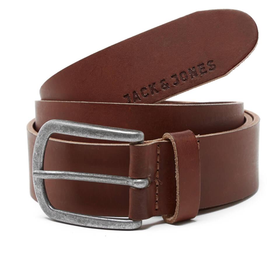 Cinturón Jack & Jones Logo - Hombre - Marrón - L - Brown