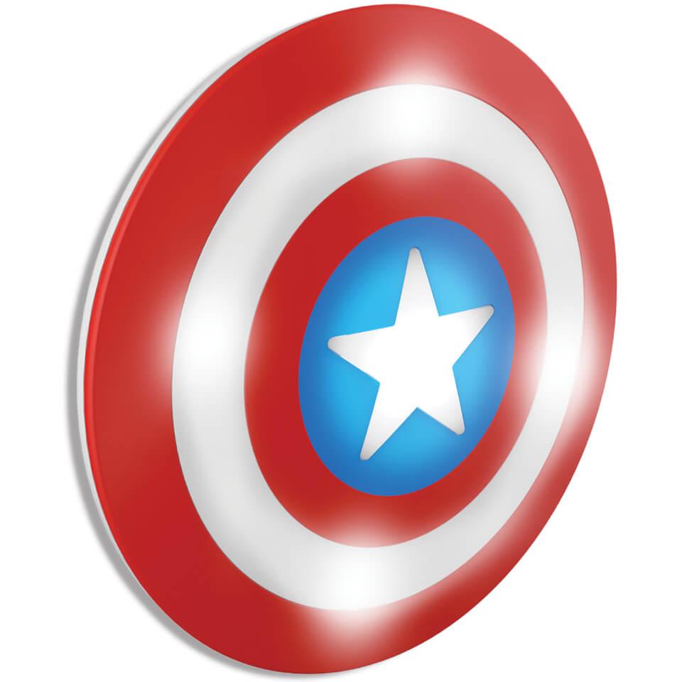 Marvel 3D Wall Light Captain America Shield