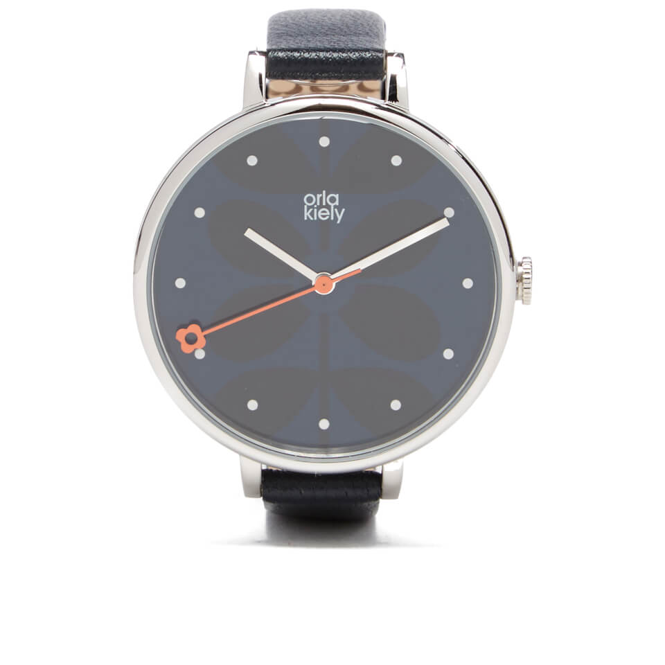 orla-kiely-women-ivy-leather-watch-midnight
