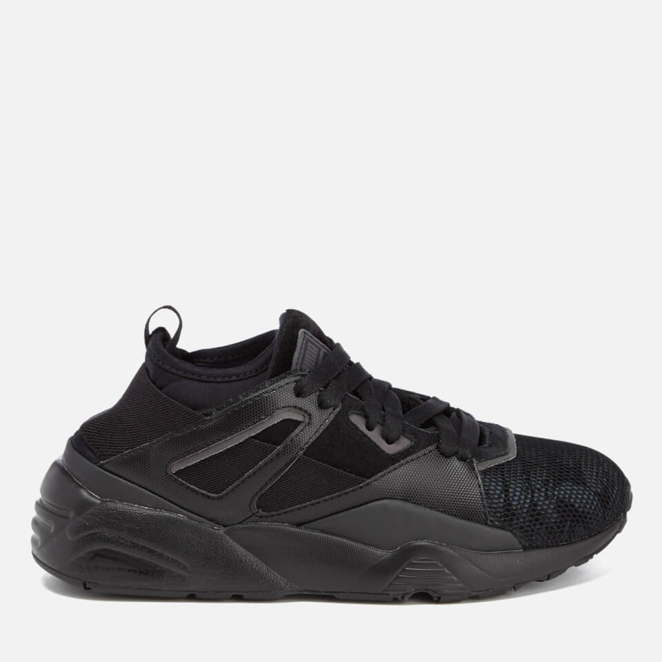 Puma Womens Blaze Of Glory Sock Swan Trainers Black/black Uk 5