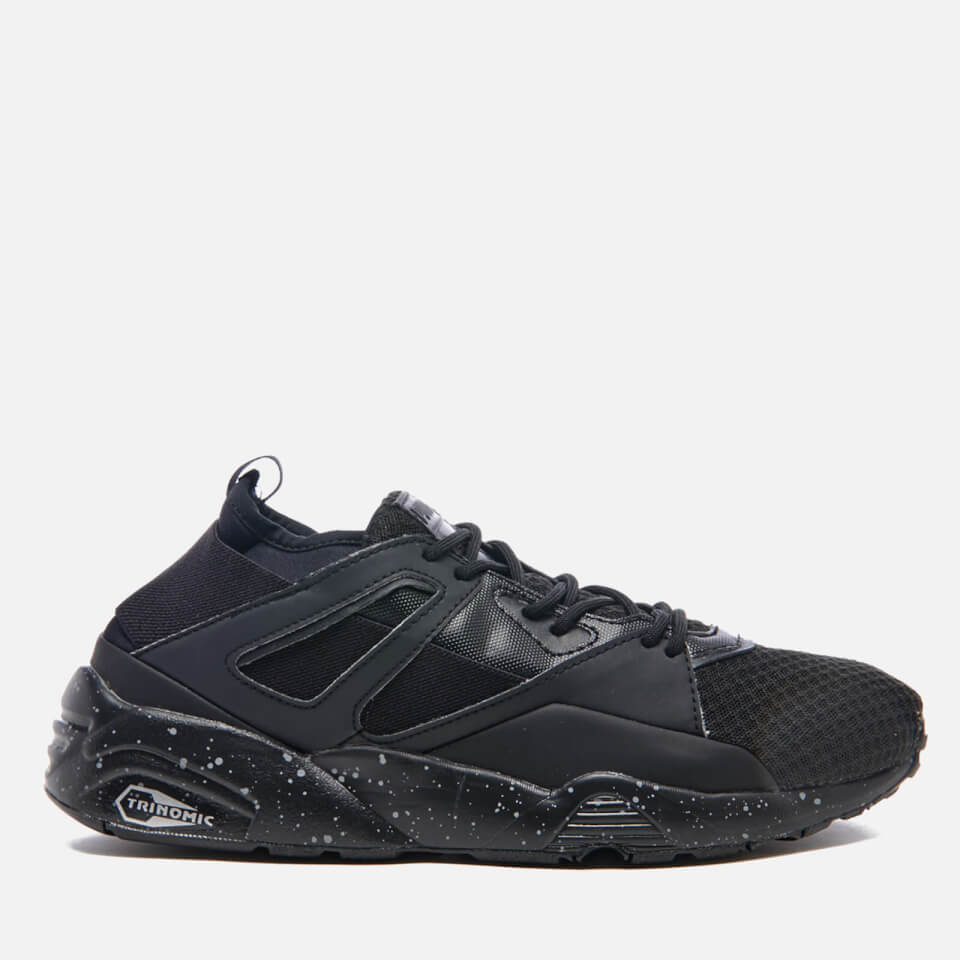 Puma Mens Blaze Of Glory Sock Trainers Puma Black Uk 10