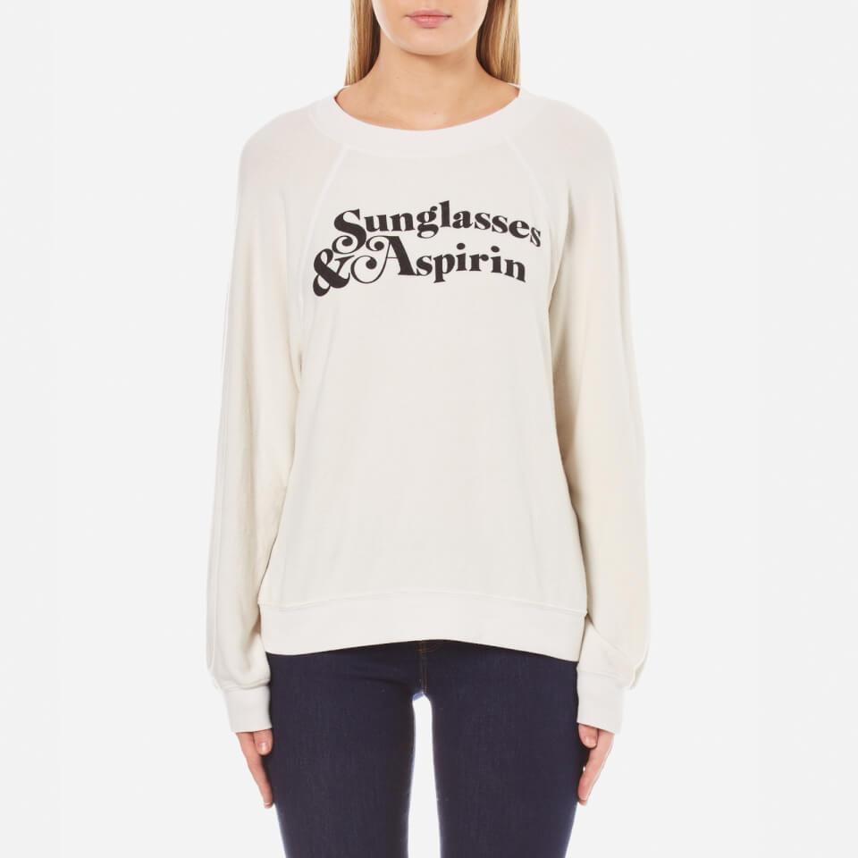 wildfox-women-sunglasses-aspirin-sommers-sweatshirt-alabaster-m
