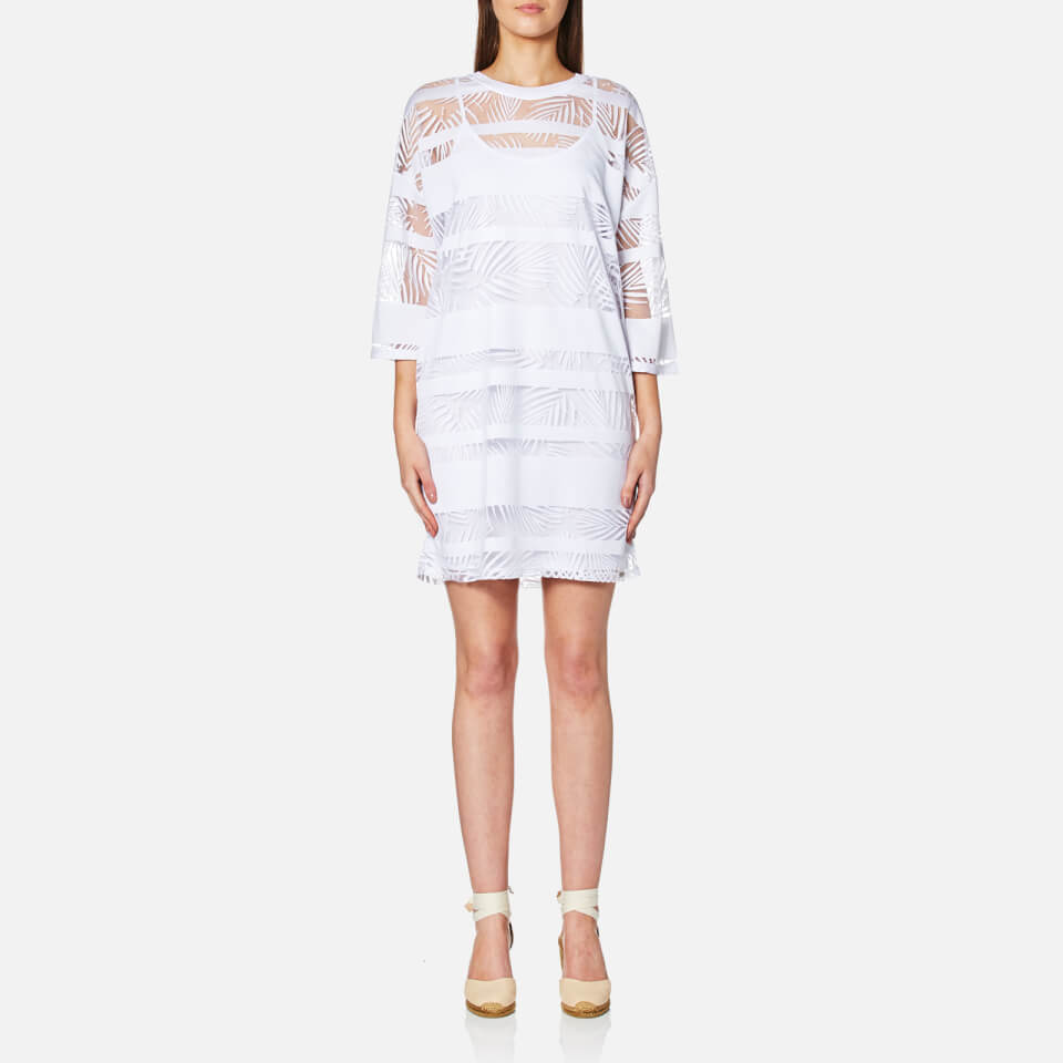 Boss Orange Womens Diburn T-shirt Dress White S