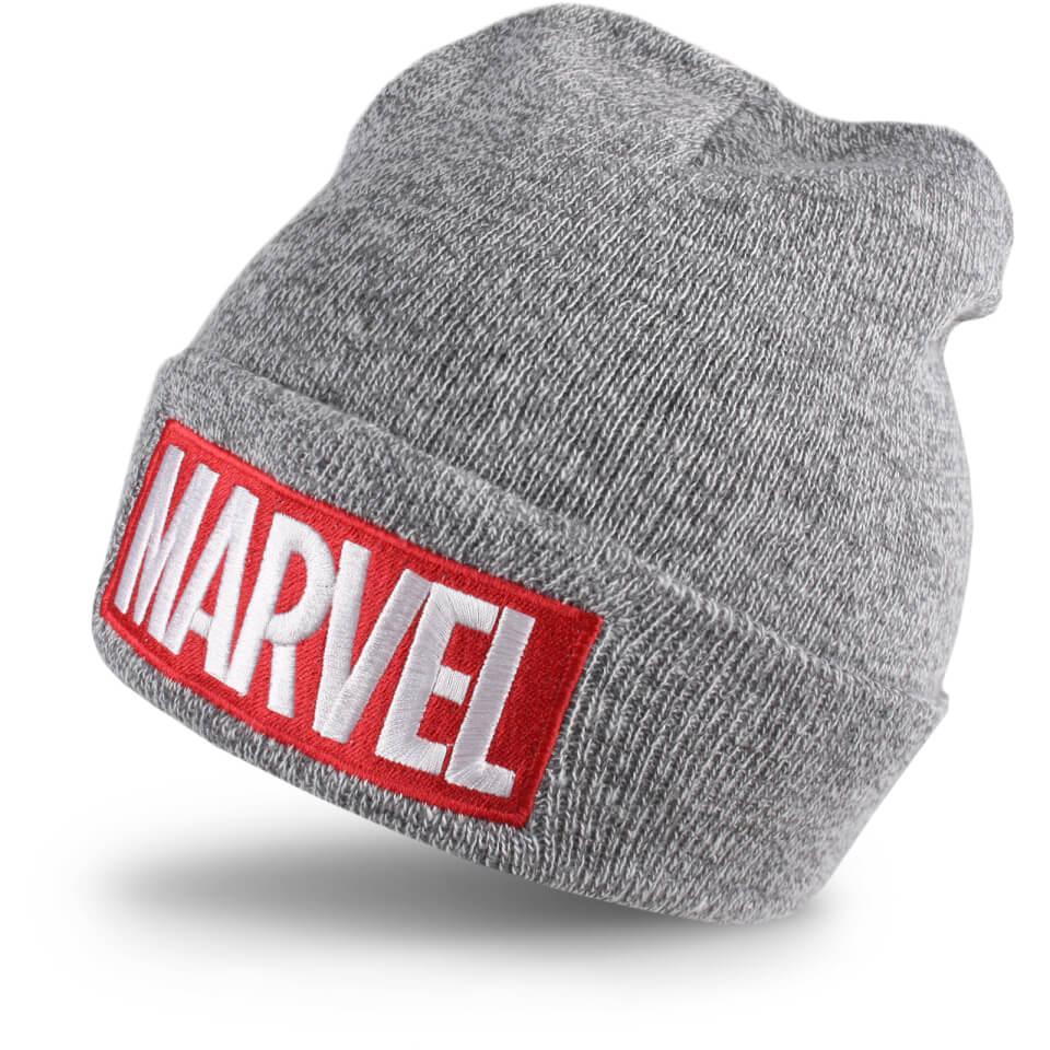 marvel-men-logo-beanie-grey