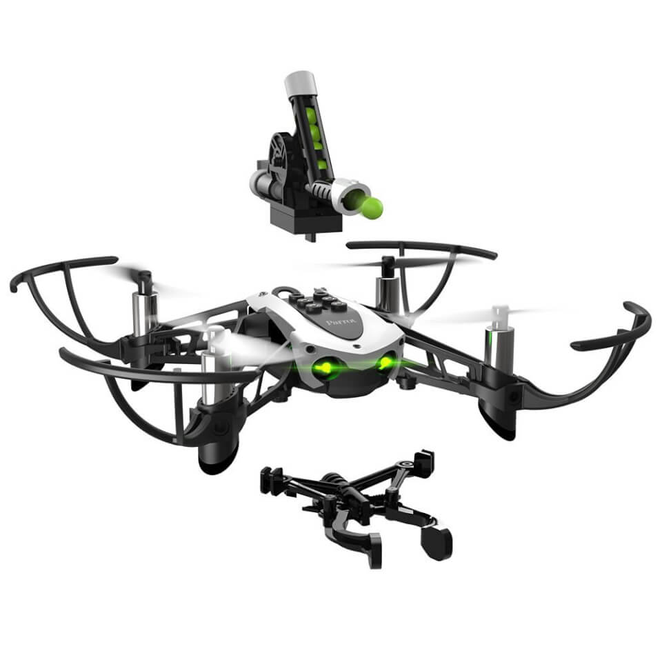 parrot-mambo-quadcopter-mini-drone-with-cannon-shooting-grabber-accessories