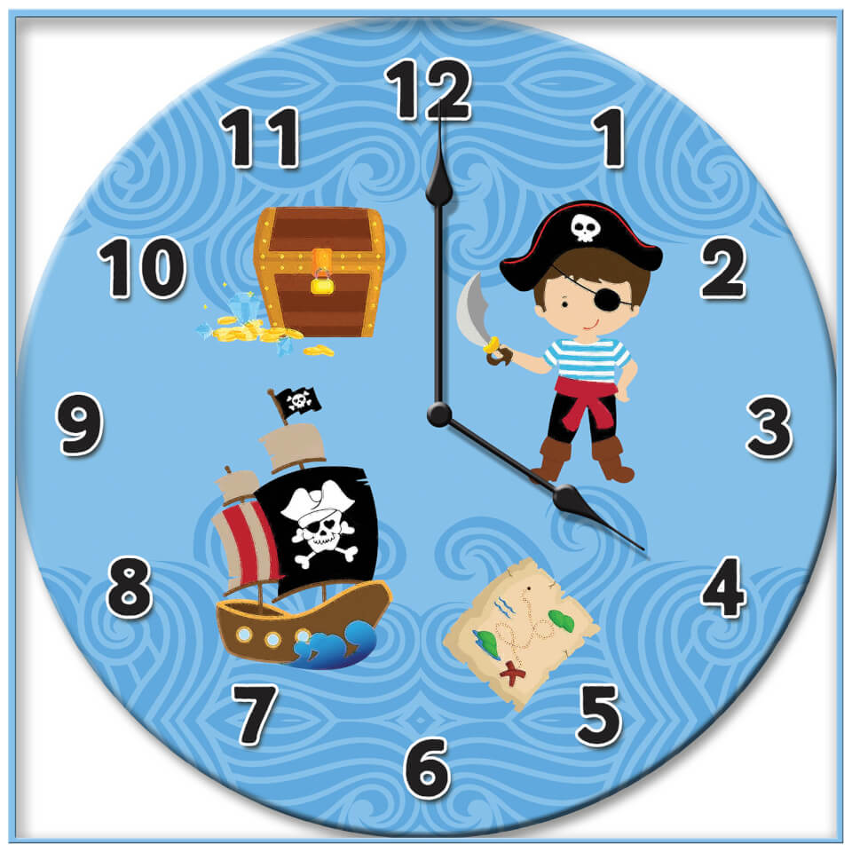 pirate-clock