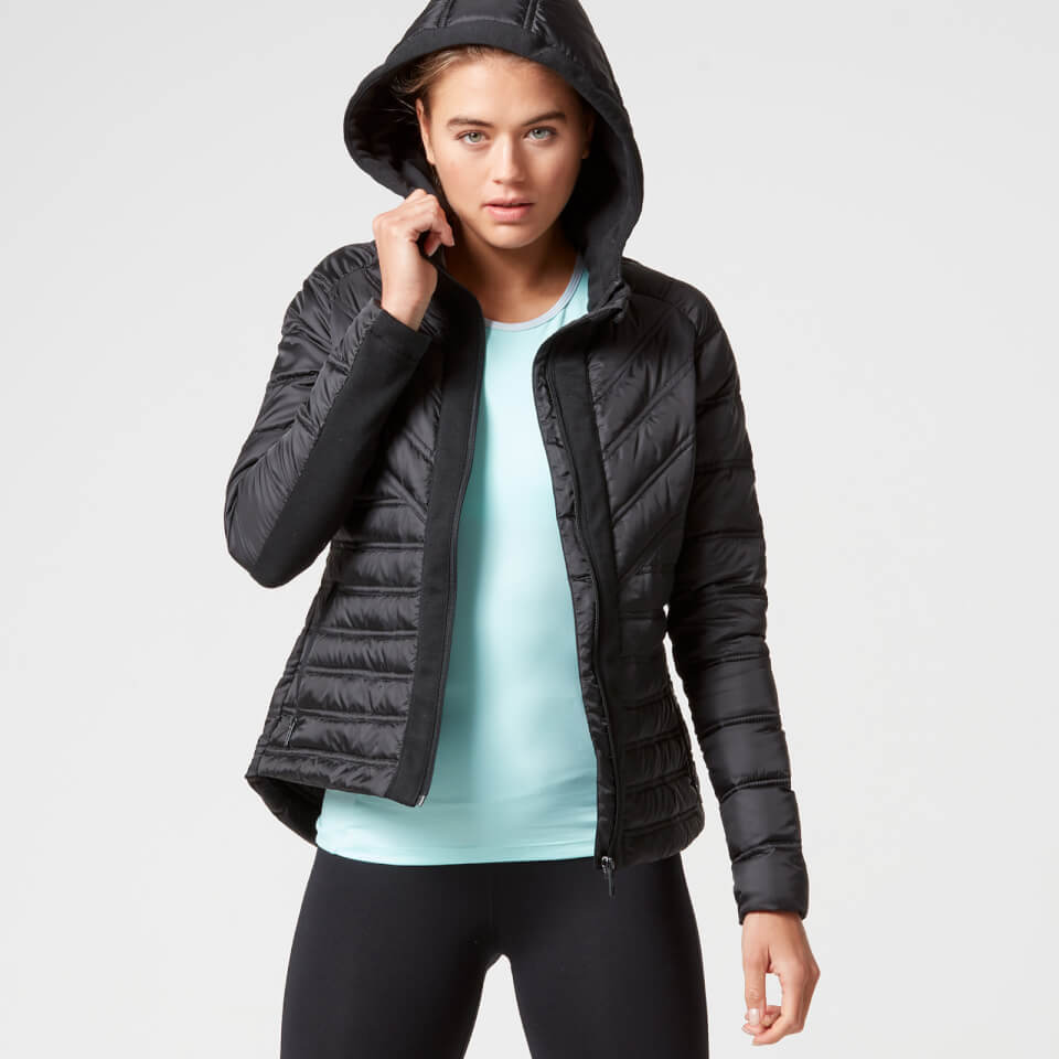 Myprotein Women's Lightweight Puffa Jacket - Black - XS