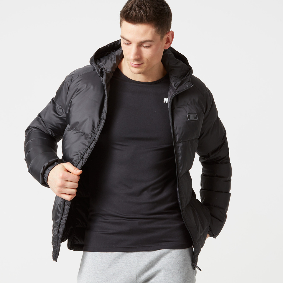 Myprotein Men's Lightweight Puffa Jacket - Black - S
