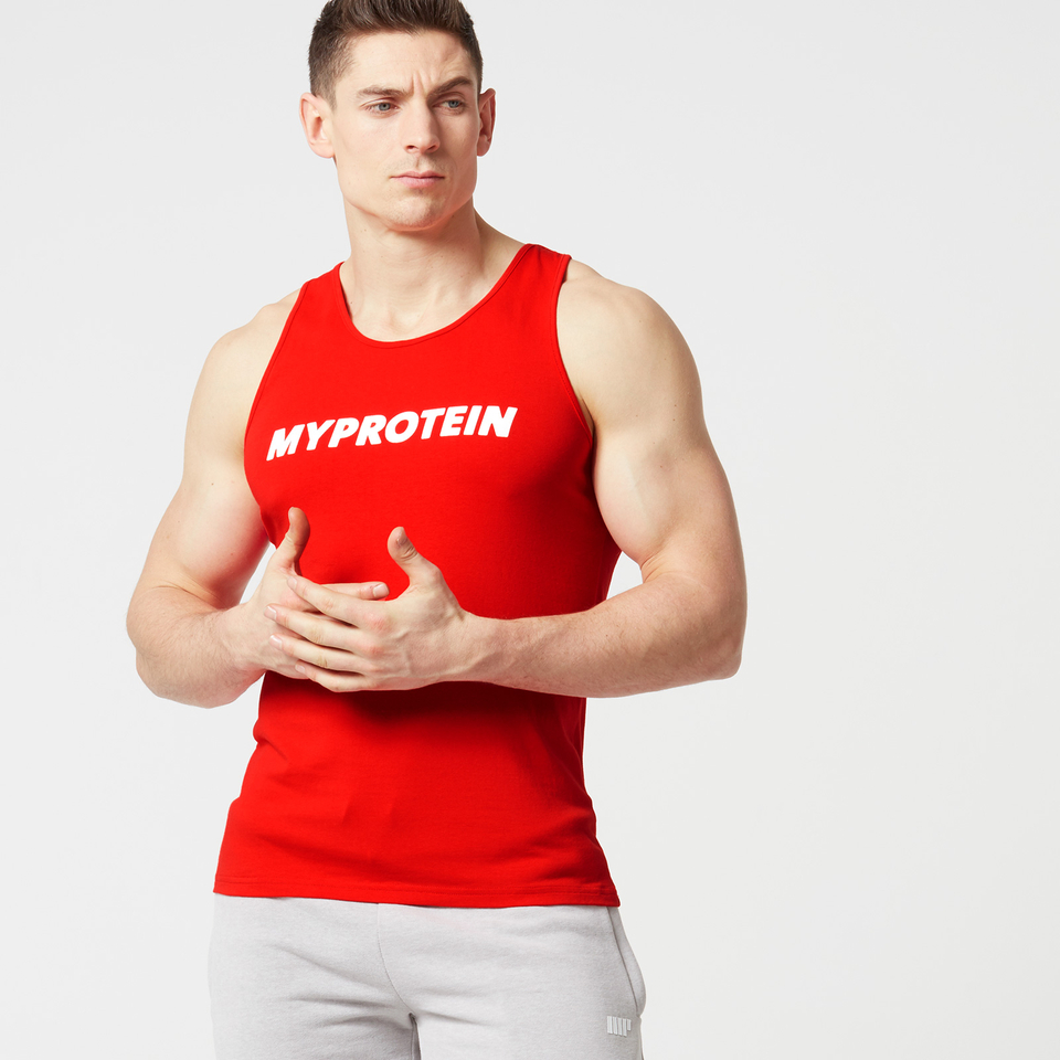 Myprotein Men's Logo Vest - Red - XL 11353150