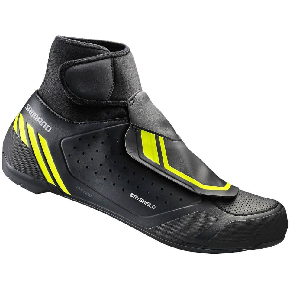 Shimano RW5 Dryshield SPD-SL Winter Shoes - Black - EU 44 - Black