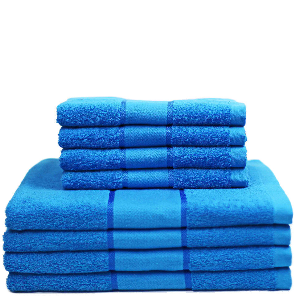 restmor-100-cotton-8-piece-towel-bale-set-teal
