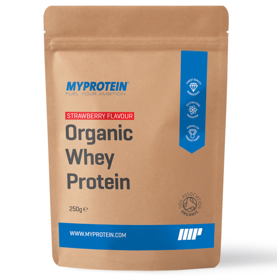 Proteína Whey Orgánica - 250g - Fresa