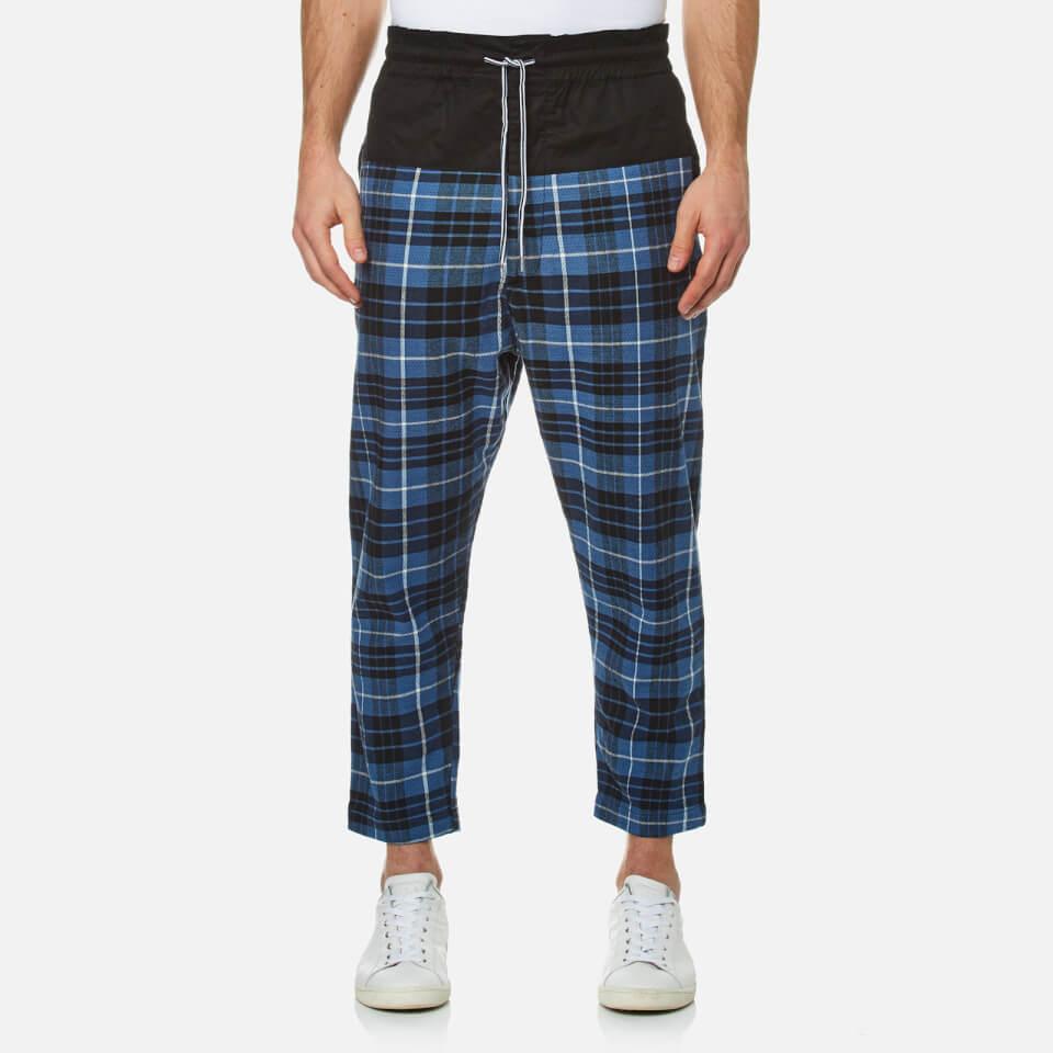 vivienne-westwood-anglomania-men-truck-samurai-trousers-tartan-blueblack-50l