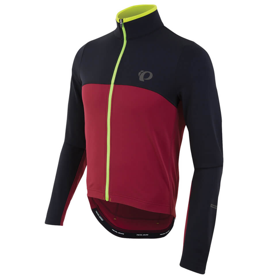pearl-izumi-select-thermal-jersey-black-tibetan-red-s