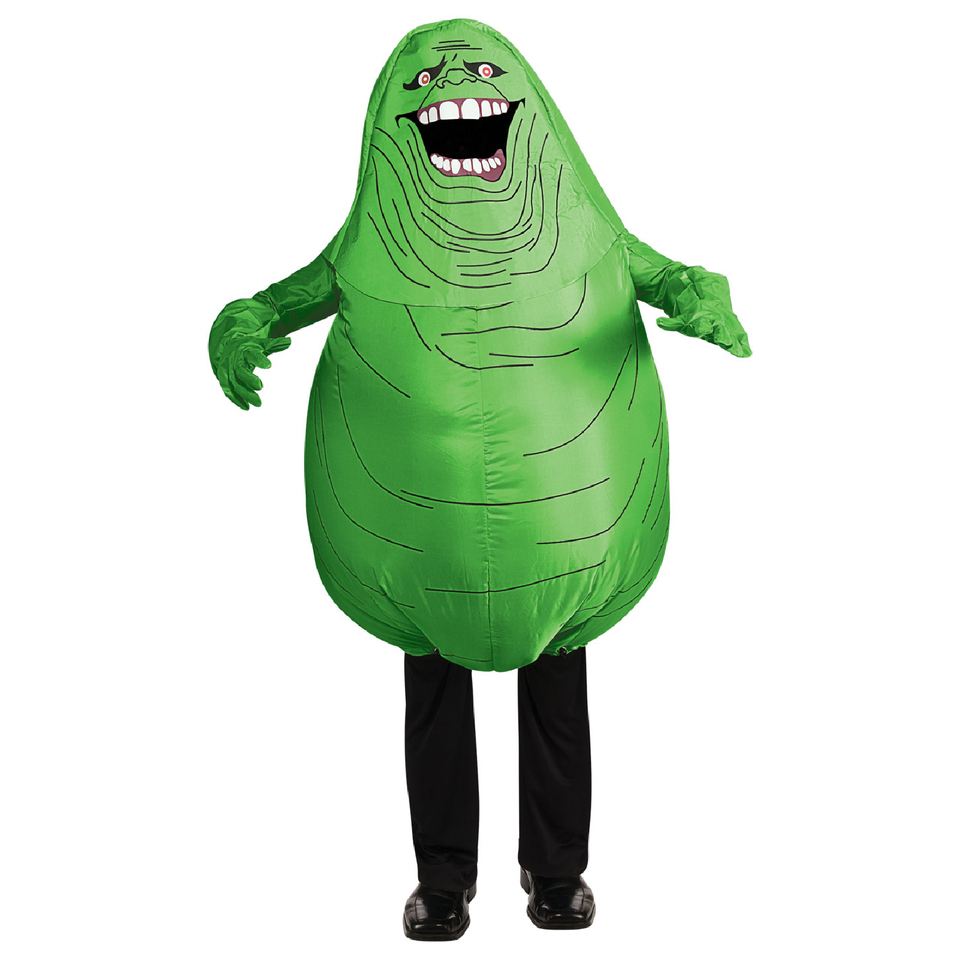 Ghostbusters Men's Inflatable Slimer Fancy Dress Costume One Size