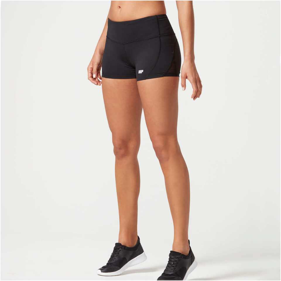heartbeat-training-shorts-xs-black
