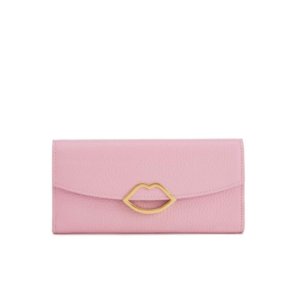 lulu-guinness-women-trisha-grainy-leather-purse-rose-pink