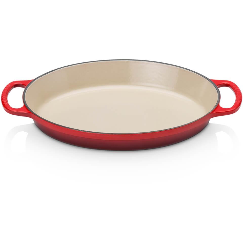 le-creuset-oval-gratin-dish-28cm-cerise