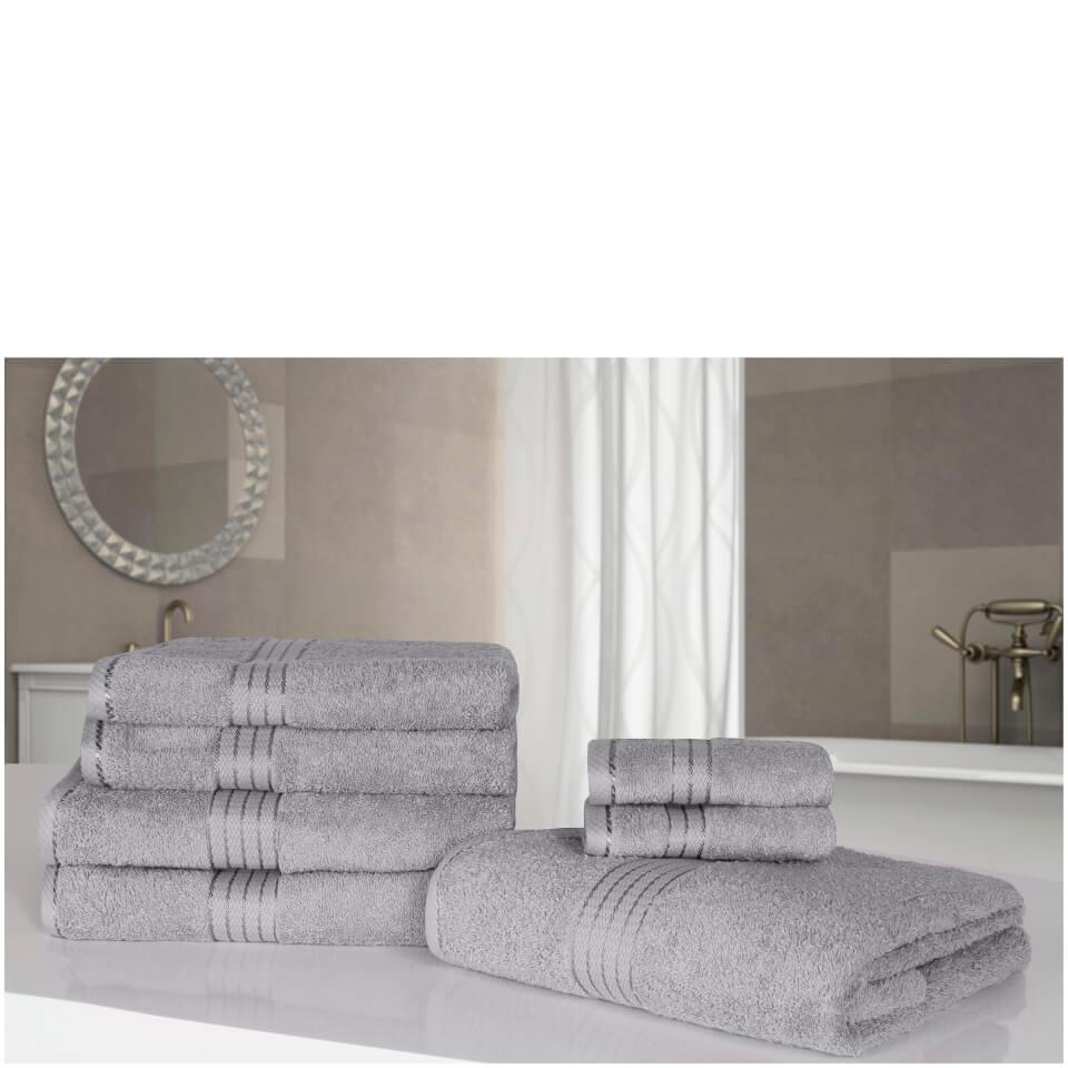 highams-100-egyptian-cotton-7-piece-towel-bale-grey