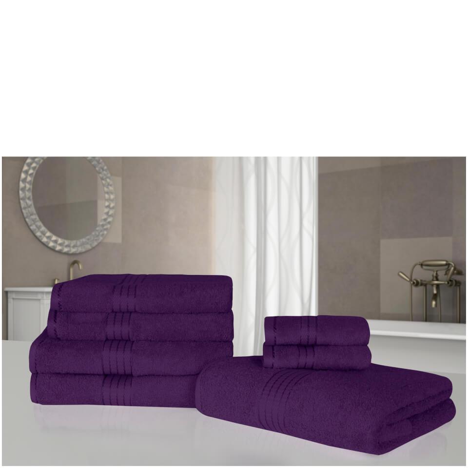 highams-100-egyptian-cotton-7-piece-towel-bale-purple
