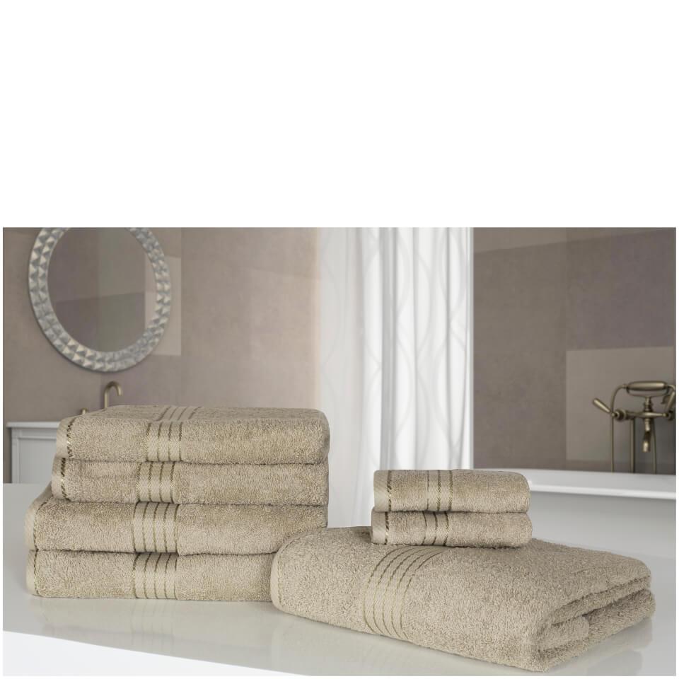 highams-100-egyptian-cotton-7-piece-towel-bale-natural