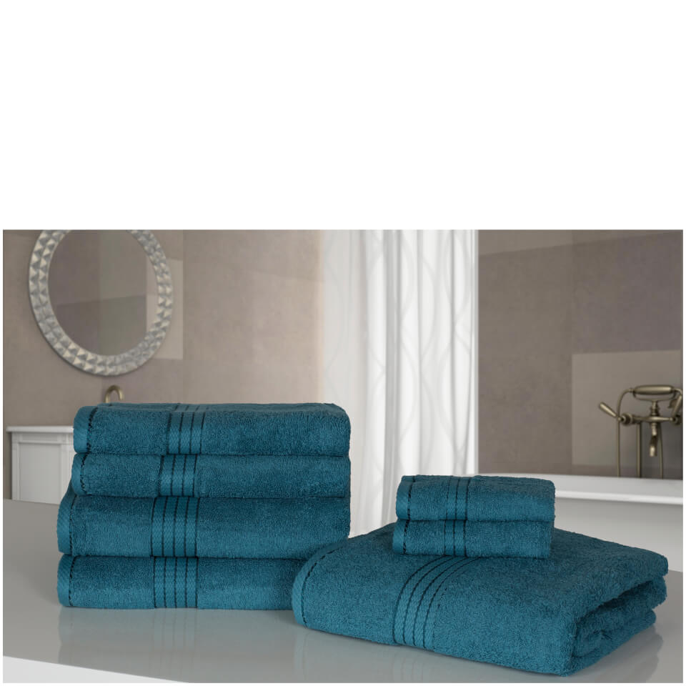 highams-100-egyptian-cotton-7-piece-towel-bale-blue