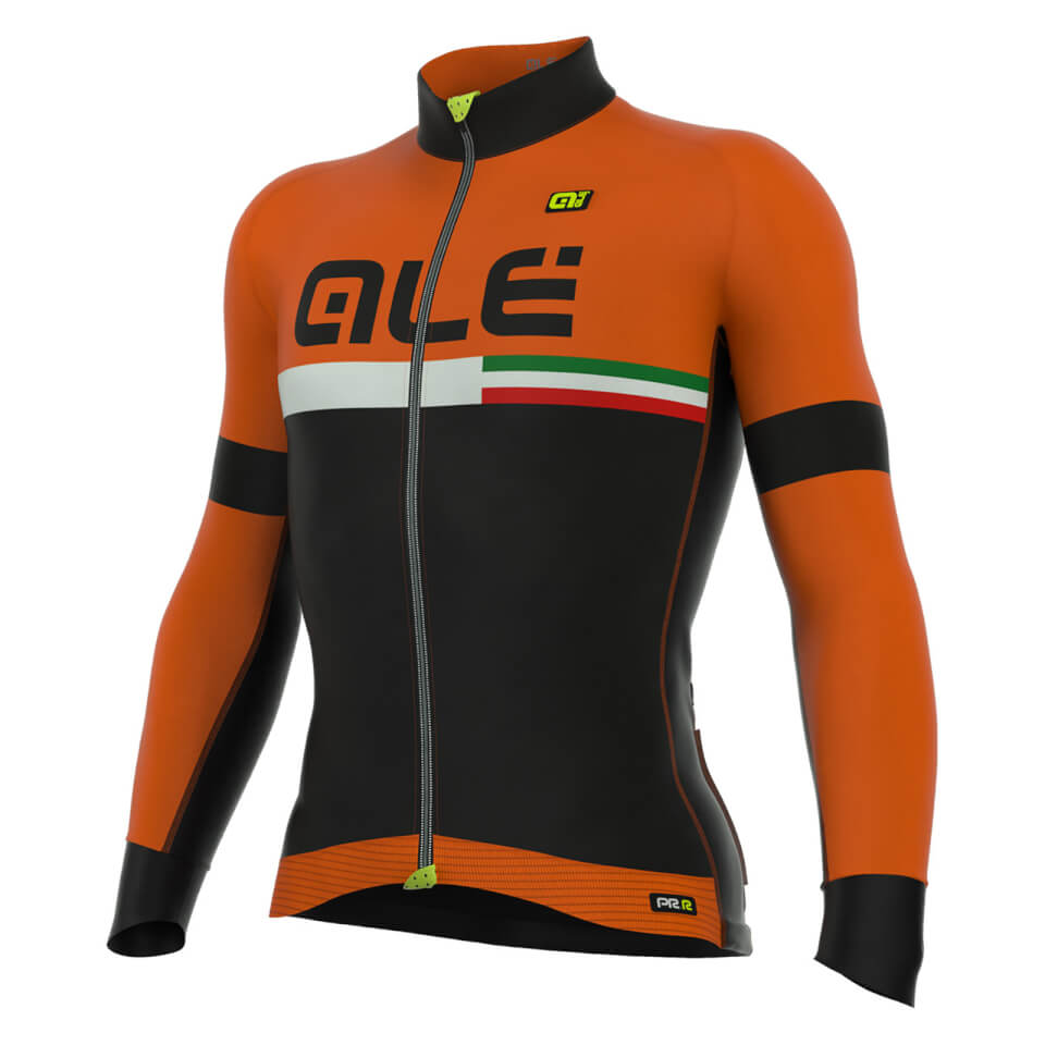 ale-prr-tirreno-dolomiti-long-sleeve-jersey-black-orange-s