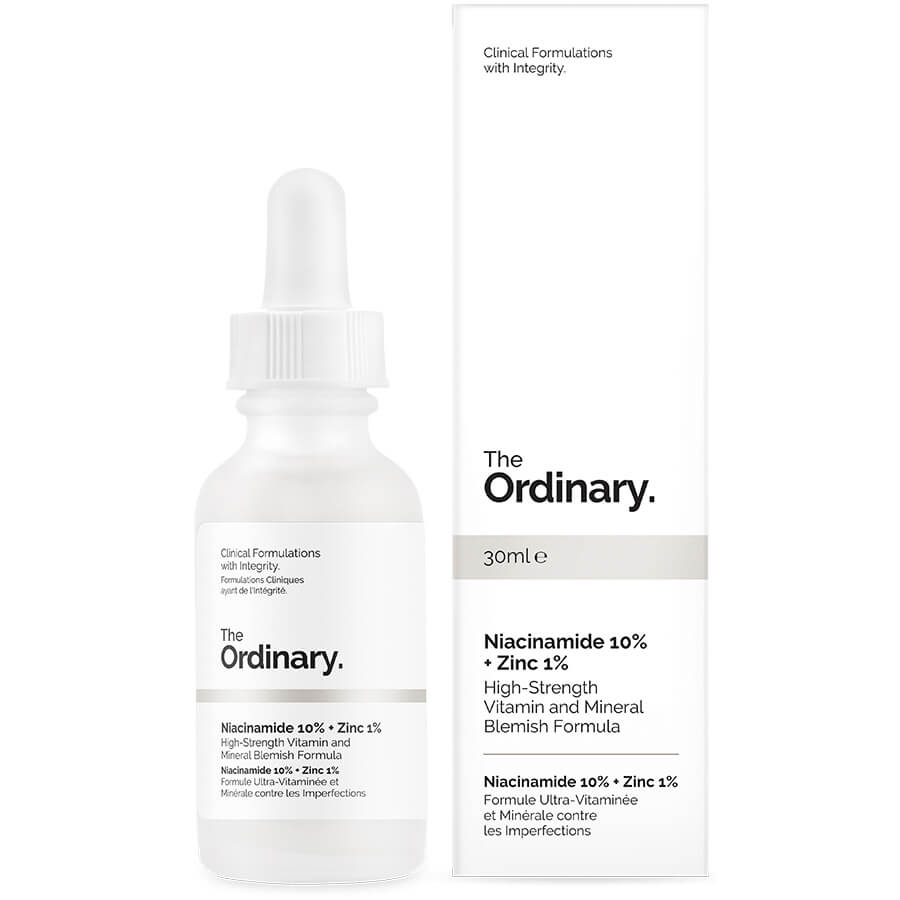 The Ordinary Niacinamide 10 Zinc 1 High Strength Vitamin And Mineral Blemish Formula 30ml Skinstore