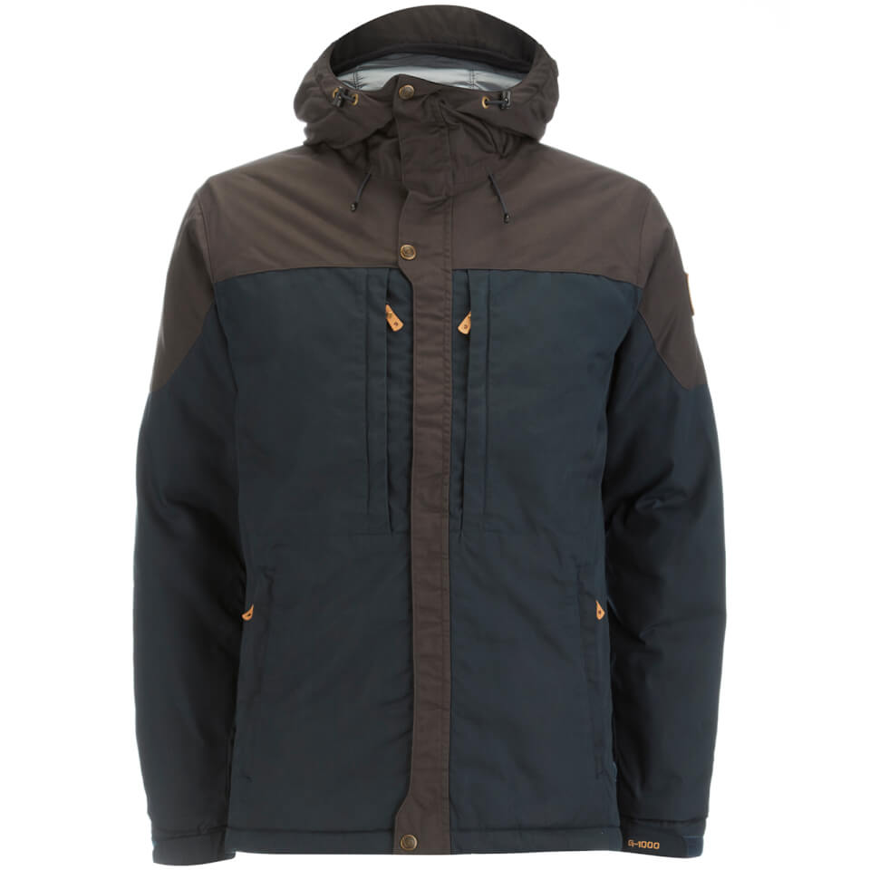Fjallraven Mens Skogso Padded Jacket Dark Navy/dark Grey L