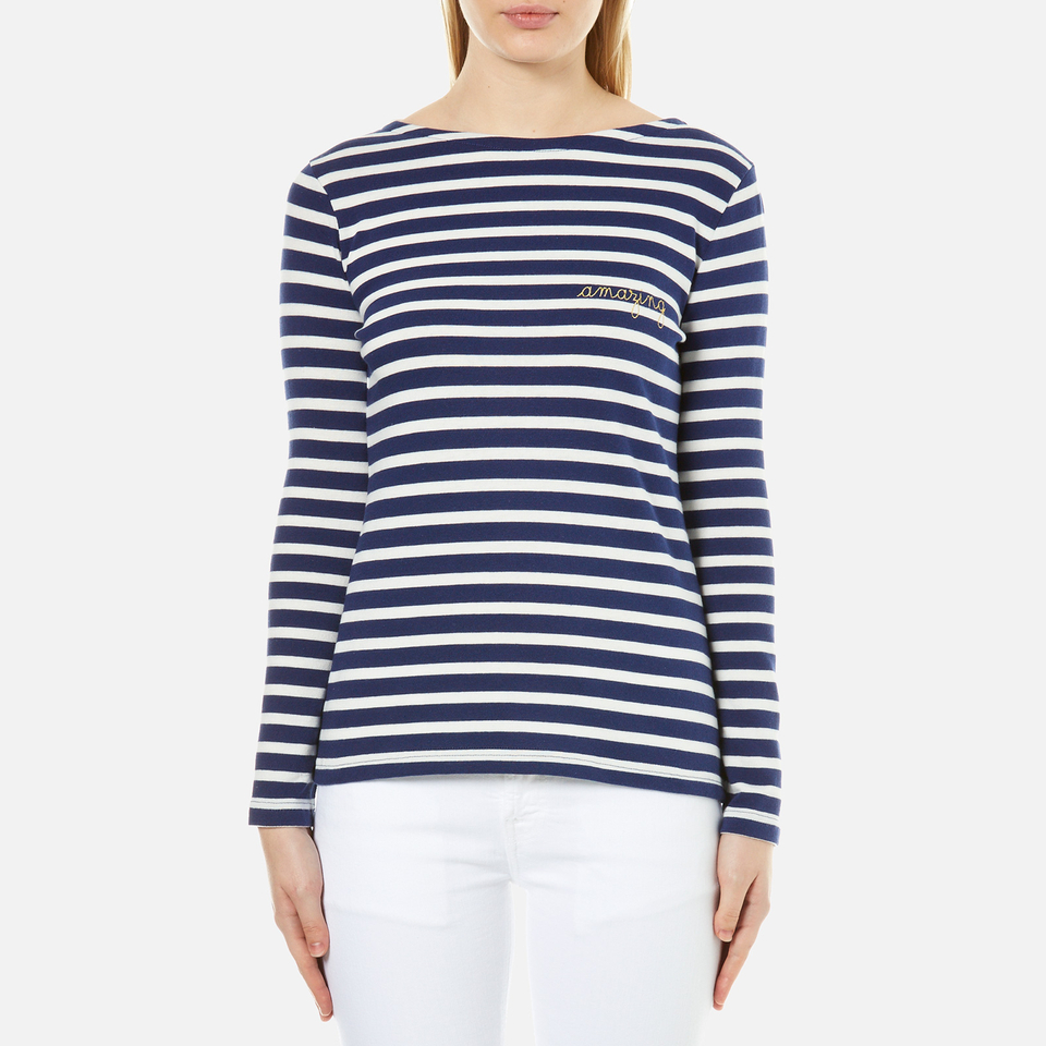 maison-labiche-women-amazing-long-sleeve-t-shirt-bleu-et-blanc-s