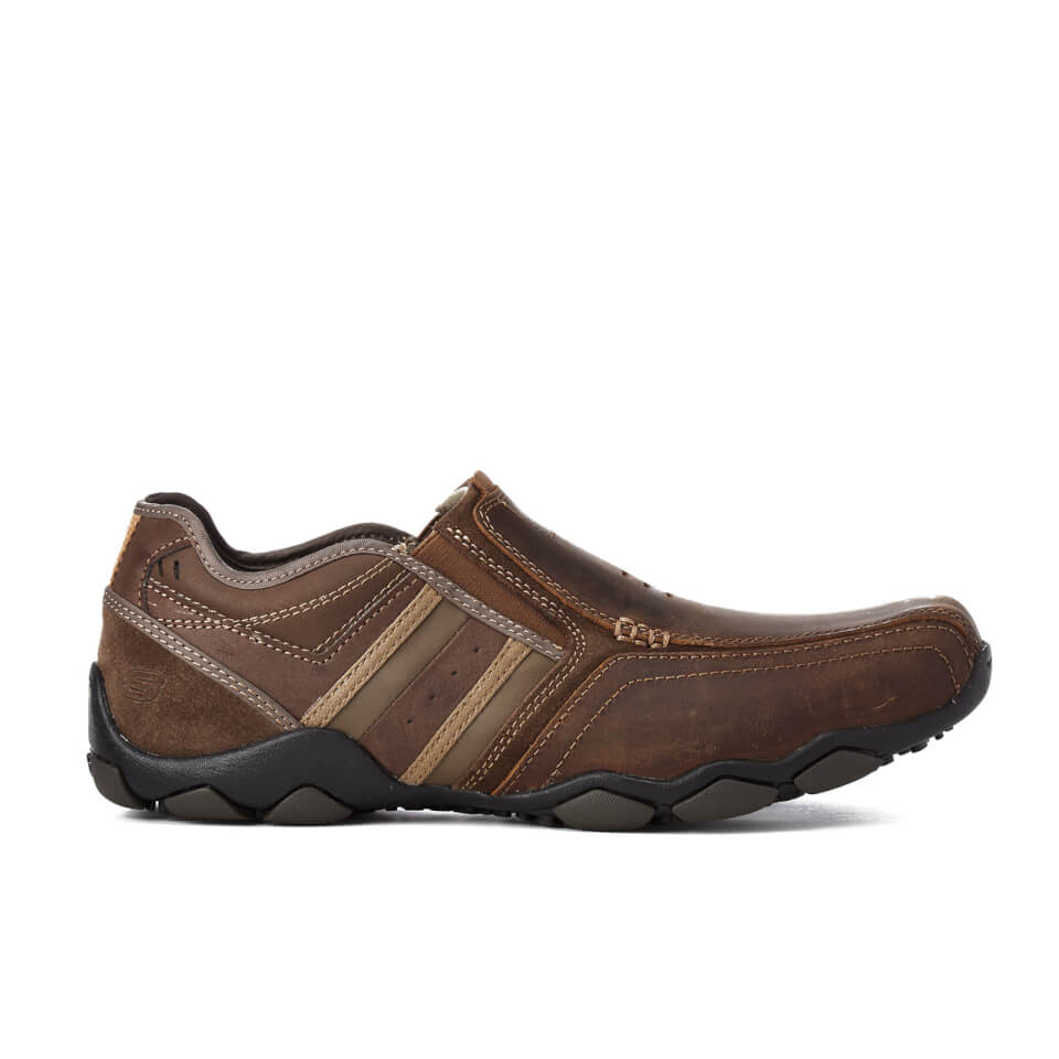 Skechers Leather Shoes Mens