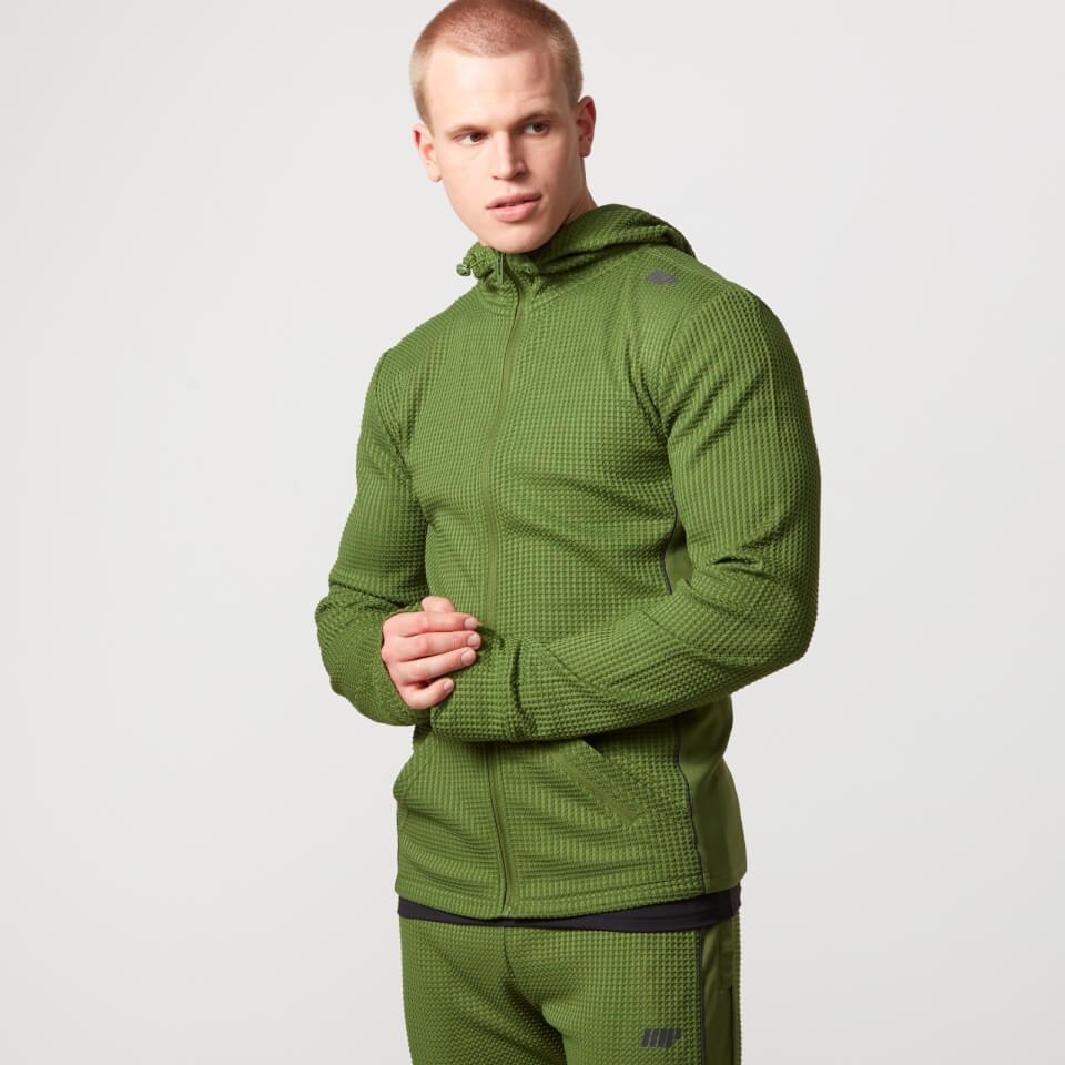 reflect-zip-up-hoodie-m-khaki