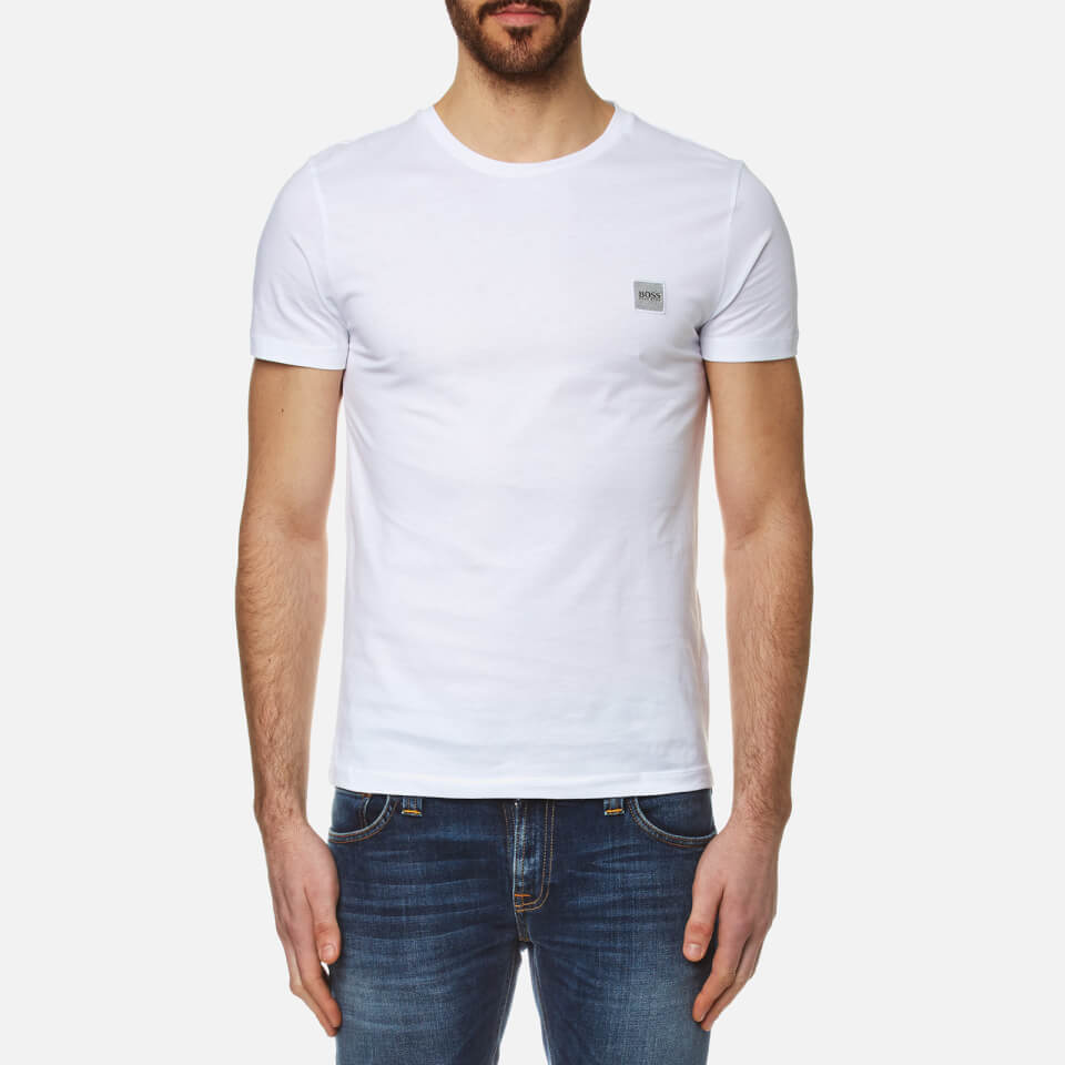 Boss Orange Mens Tommi Crew Neck T-shirt White Xxl