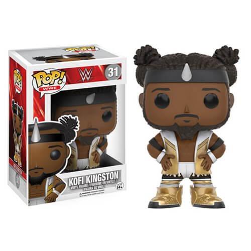WWE Kofi Kingston Pop! Vinyl Figur