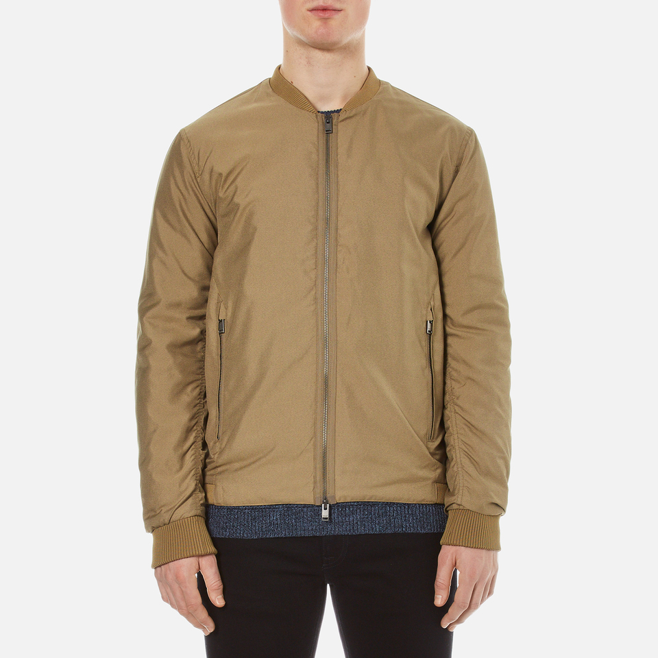 Selected Homme Mens New Light Bomber Jacket Desert Taupe L