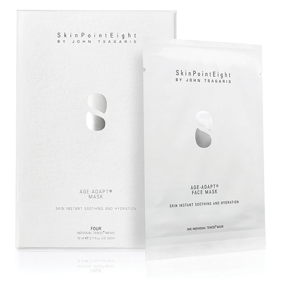 Skinpointeight Age Adapt Face Mask 4 Individual Tencel Masks Crabtree Rj45 Module Wiring Diagram Beautyexpert