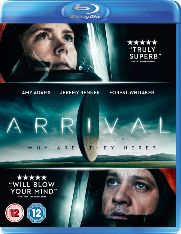 Image result for arrival blu-ray
