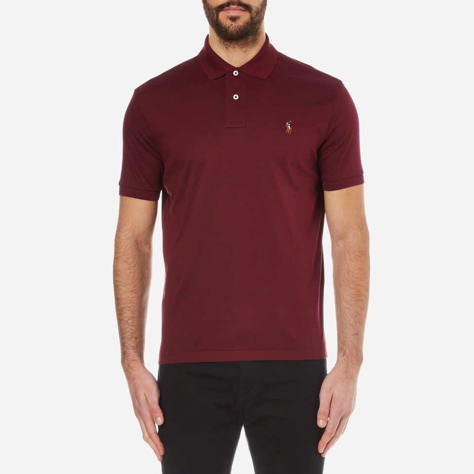 Polo ralph lauren men 39 s custom fit pima cotton polo shirt for Custom polo shirts canada