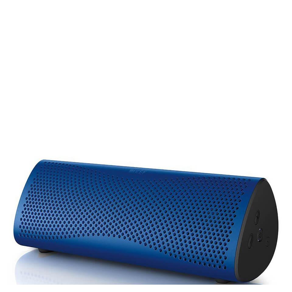 KEF MUO Bluetooth Speaker Blue