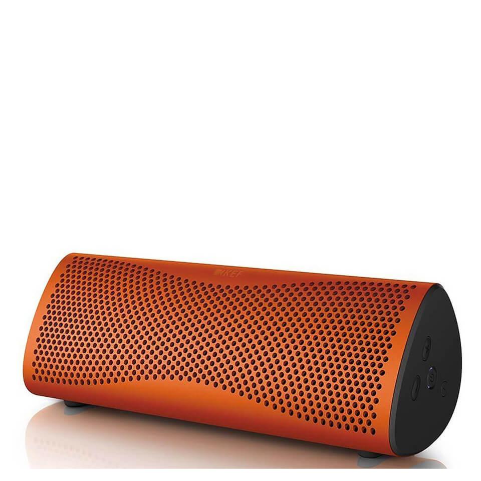 KEF MUO Bluetooth Speaker Orange