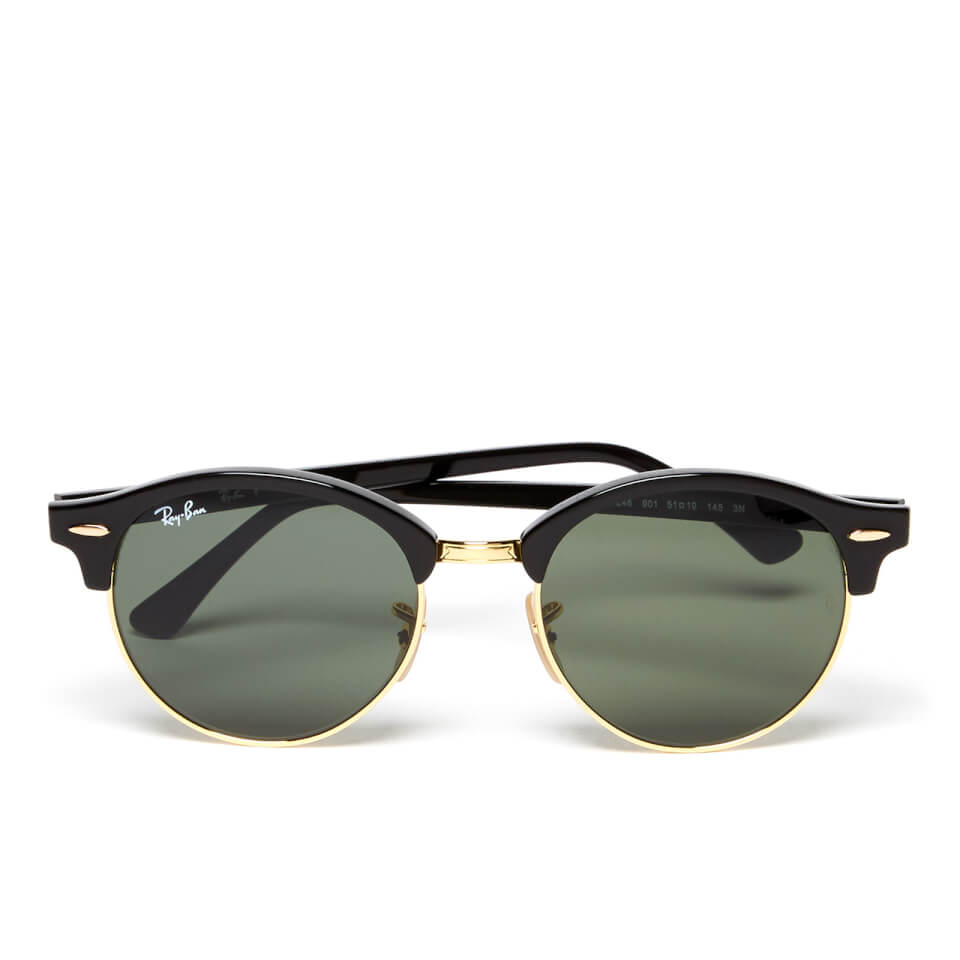 ray-ban-clubround-flat-lenses-half-metal-frame-sunglasses-black