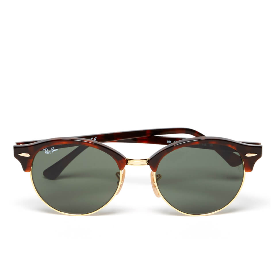 ray-ban-clubround-flat-lenses-half-metal-frame-sunglasses-red-havana