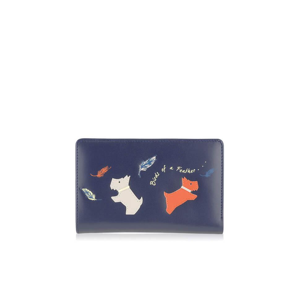 radley-women-birds-of-a-feather-medium-zip-purse-navy